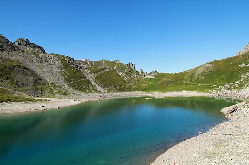 lac du Grand Ban été serre-chevalier