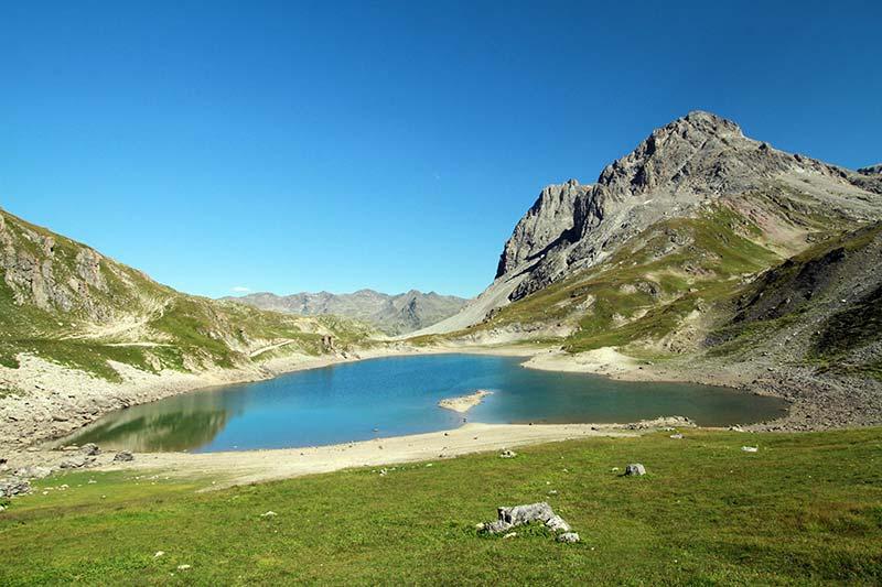 lac du Grand Ban vallée de la Clarée