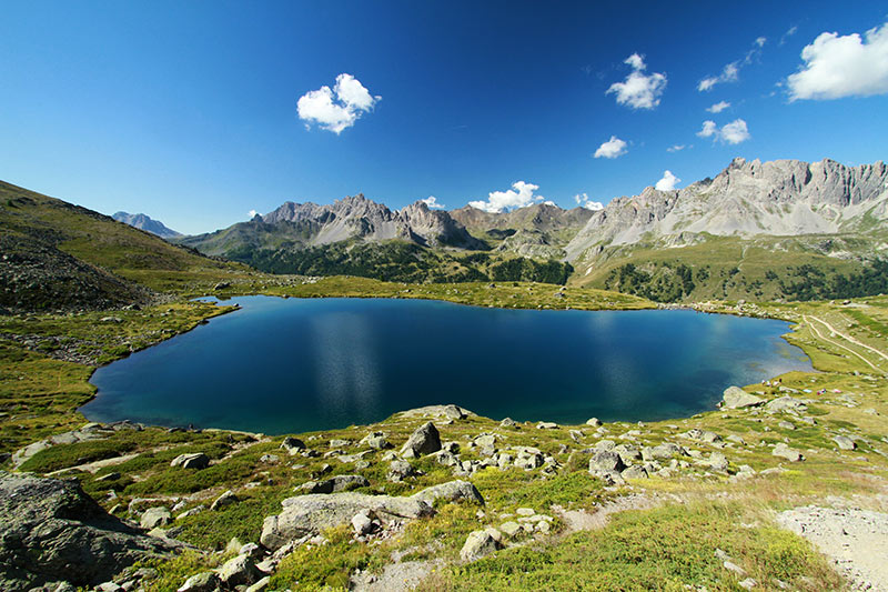 lac laramon vu de haut