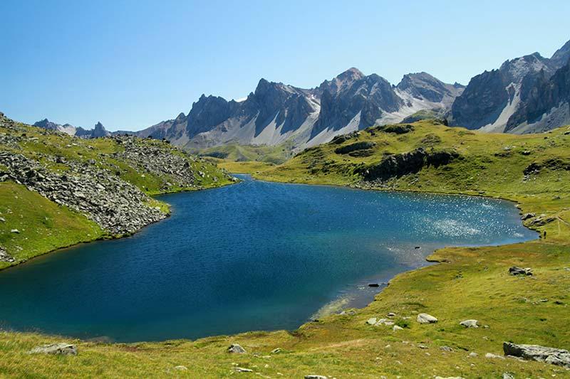 Lac Long des Muandes Alpes du Sud
