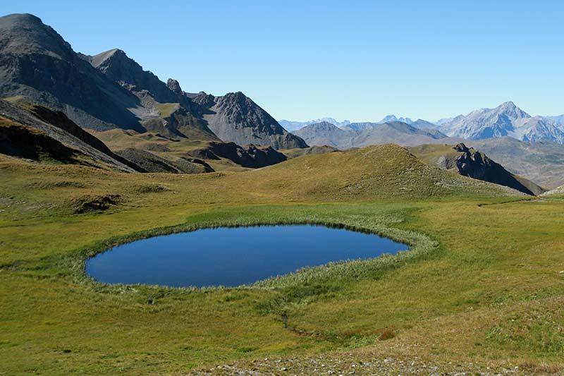 lac des Maïts vallée de la Cerveyrette