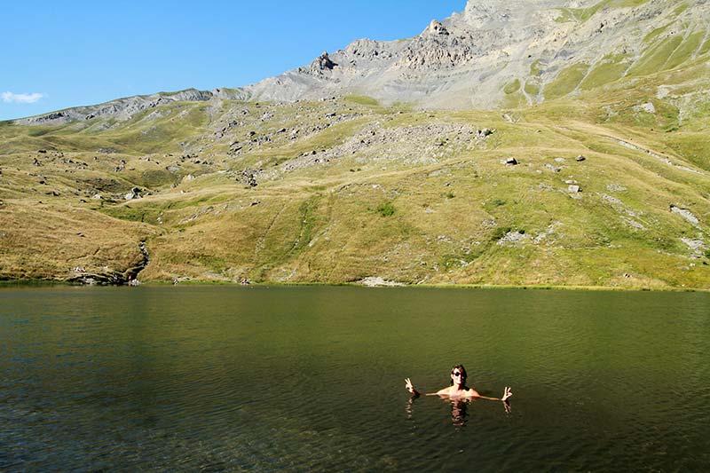 lac du Pontet baignade