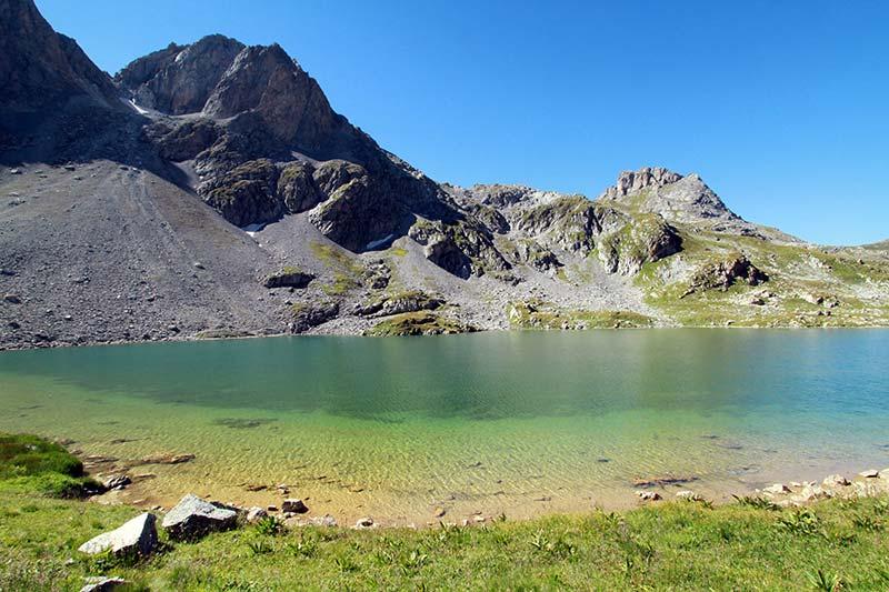lac Rond été à Serre-Chevalier