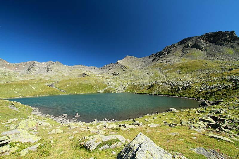 lac Rond des Muandes alpes du sud