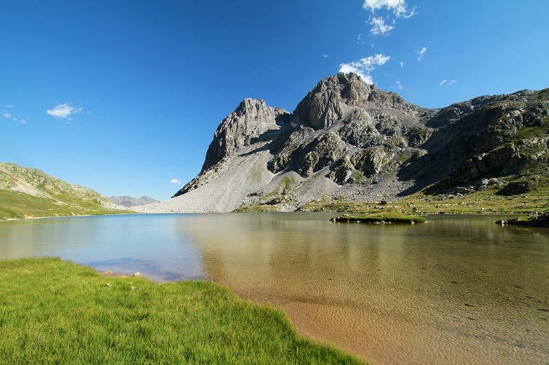 lac Rond vallée Clarée