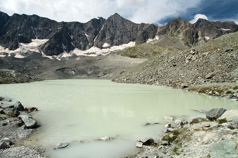 lacs glacier d'Arsine
