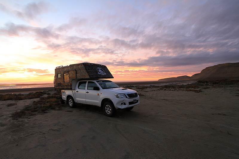 lever de soleil Patagonie
