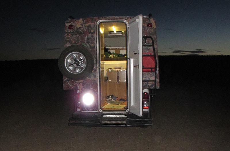 louer un van aménagé en Argentine : avantages
