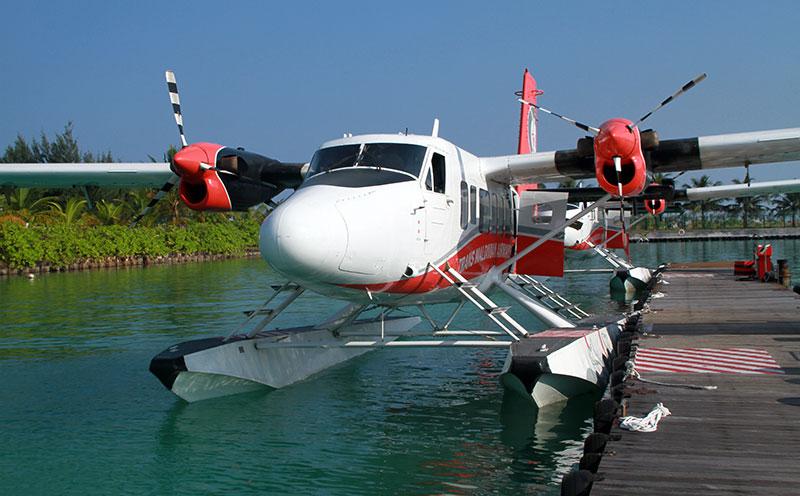 Maldives hydravion