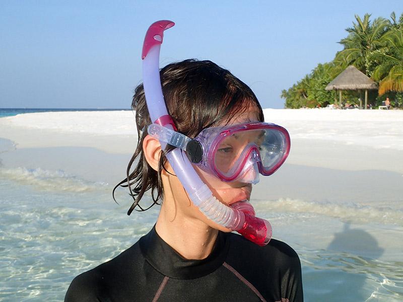 maldives masque et tuba