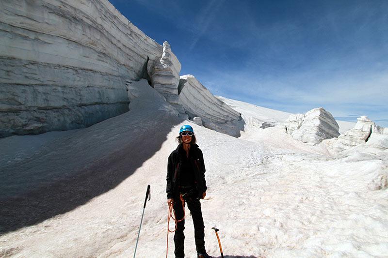 marche sur glacier Girose
