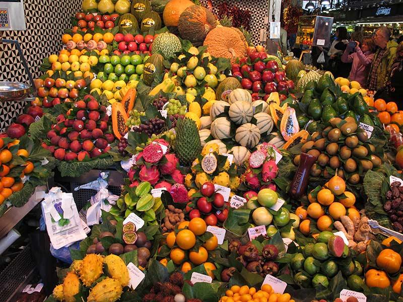 marché La Bocqueria