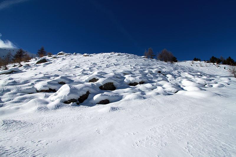 montagnes enneigées Estenc