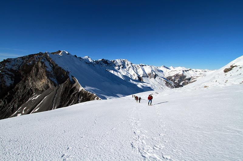 montée belvédère de l'alp