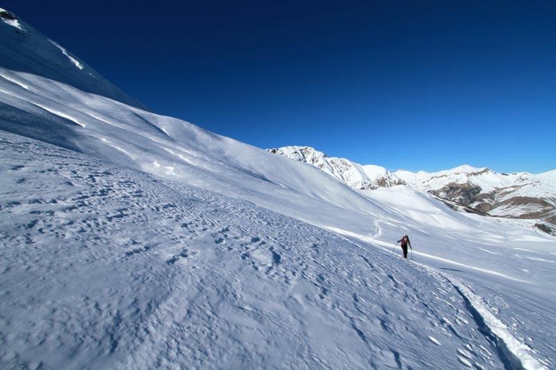 montée vallon de l'alp