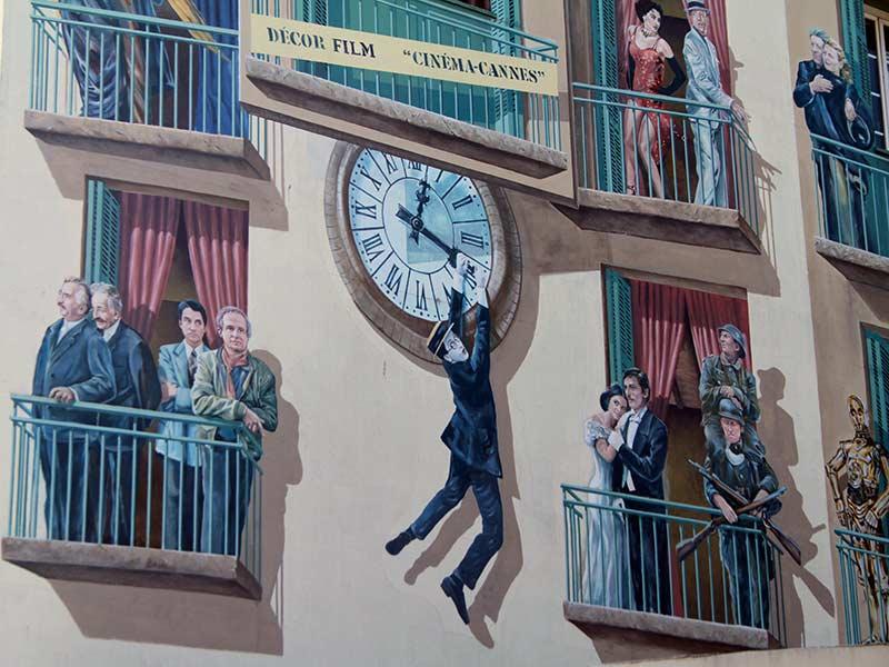 murs peints à Cannes