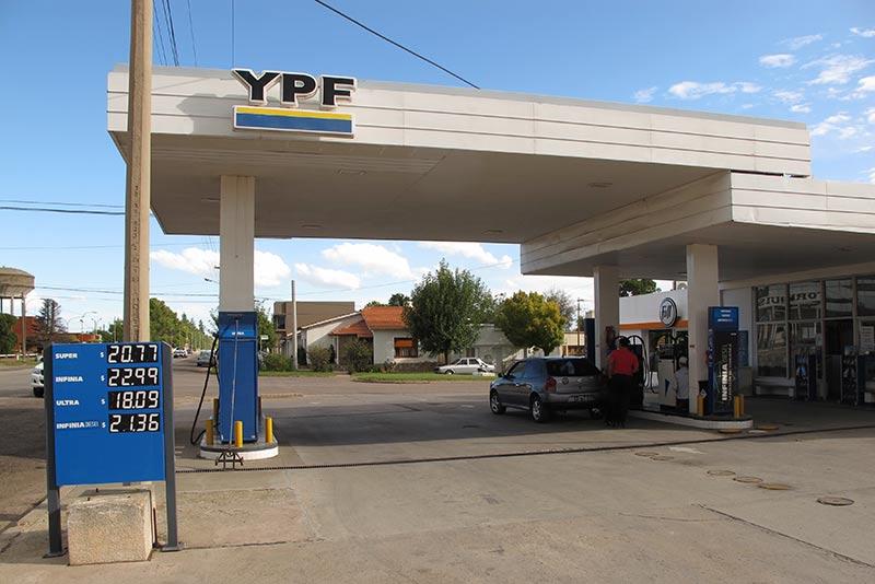 où trouver de l'essence en Argentine