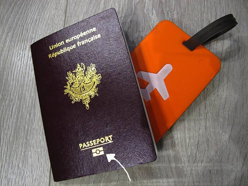 passeport biométrique voyage aux États-Unis