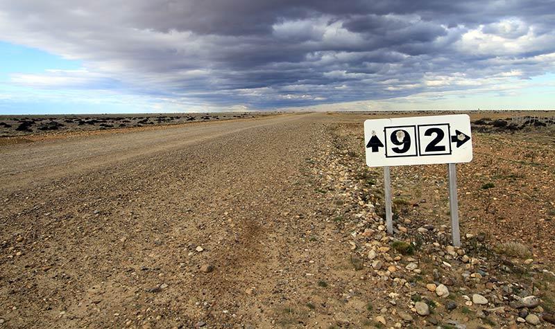 piste Patagonie