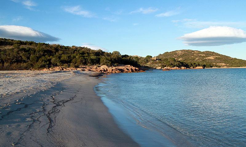 plage Rondinara Corse