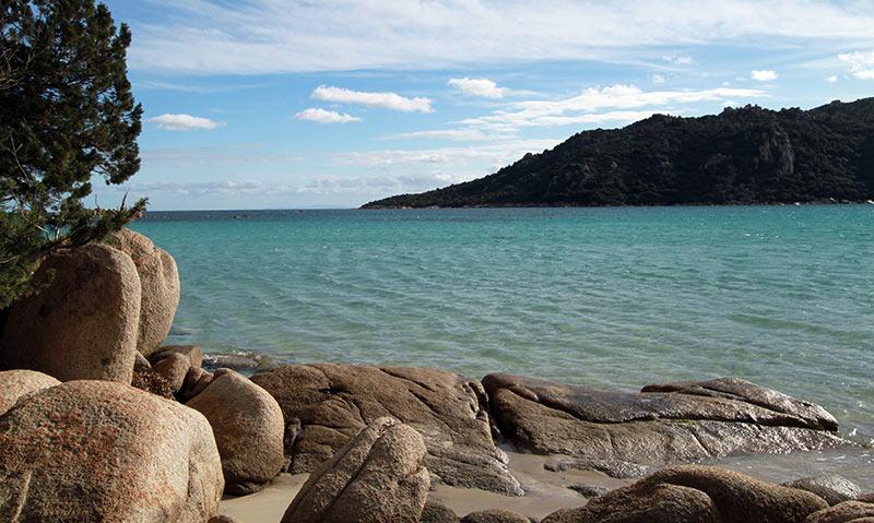 plage de Santa Giulia Corse