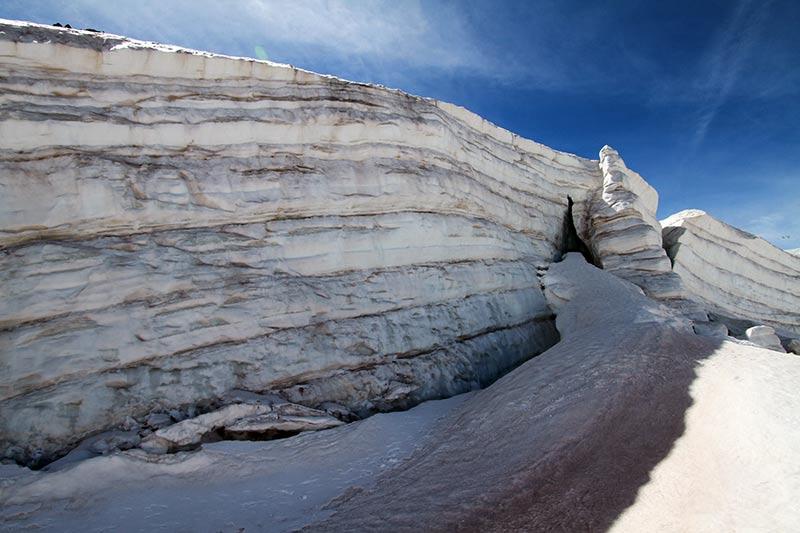rando glaciaire glacier