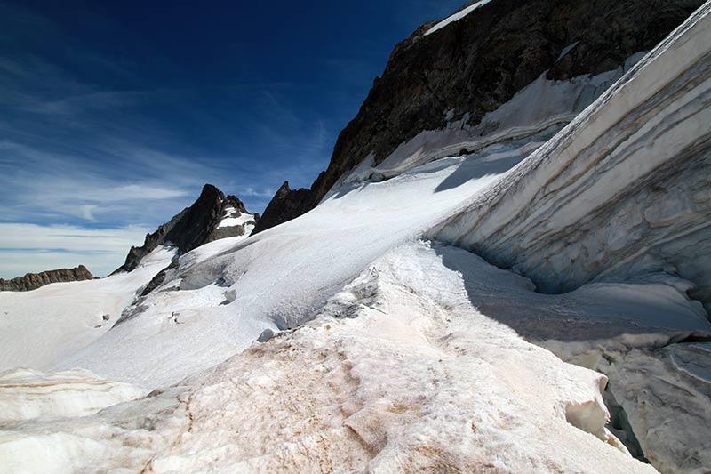 rando sur glacier