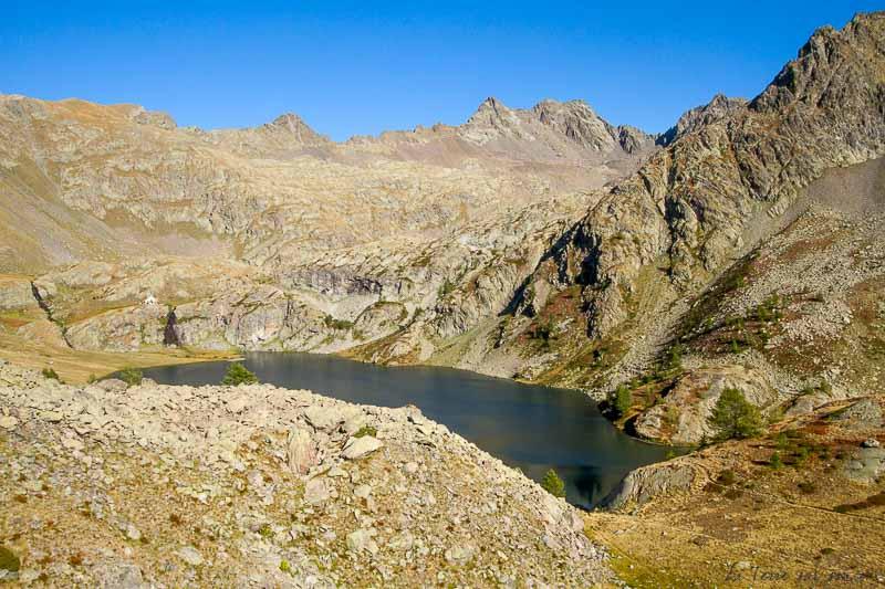 randonnée en boucle lacs de vens