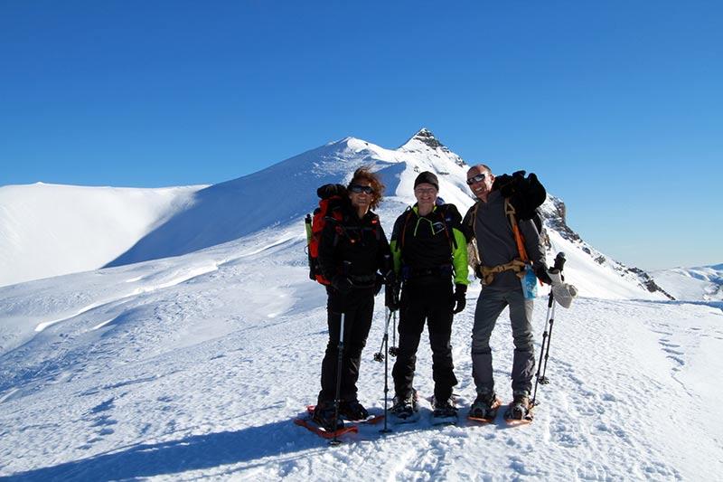 raquettes à neige bevédère de l'Alp