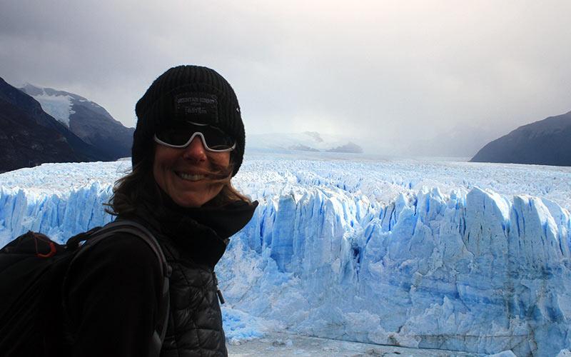 rêve d'aller au Perito Moreno en Argentine