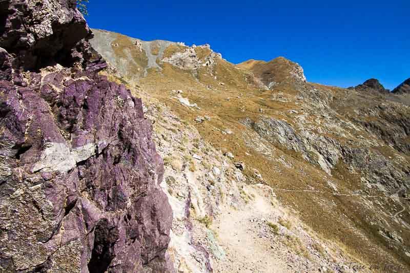 roche randonnée lac de vens