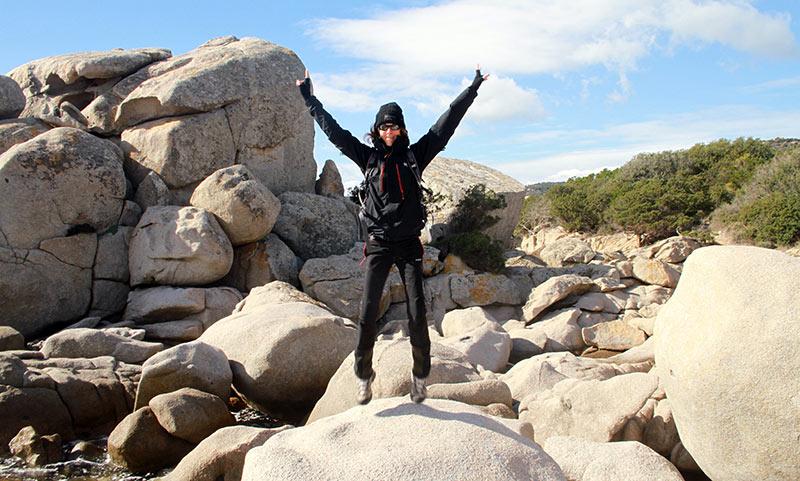 rochers étranges en Corse