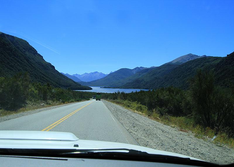 route bariloche patagonie