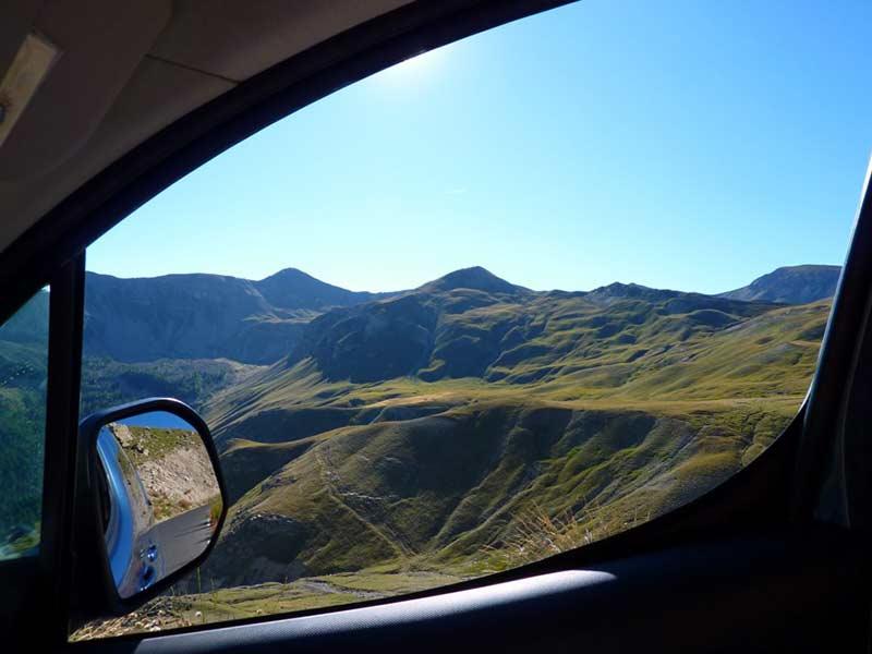 route col de la Bonette