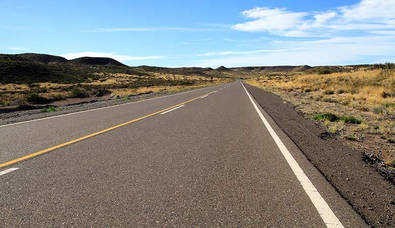 route en Patagonie