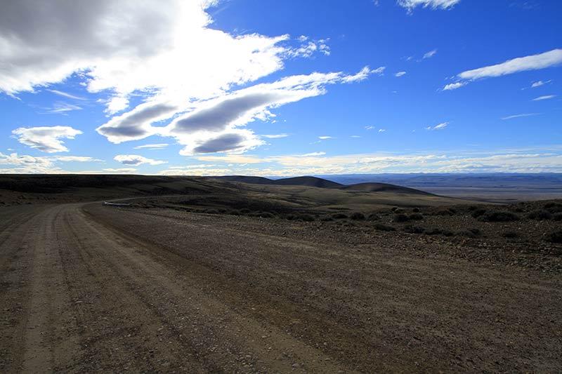 ruta 9 piste en Patagonie