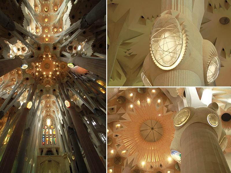 Sagrada Familia forêt