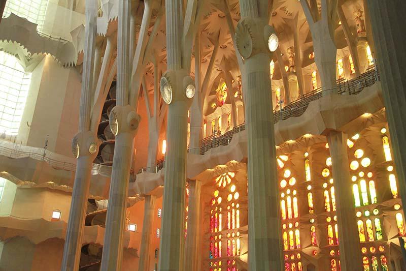 Sagrada Familia Barcelone gigantesque