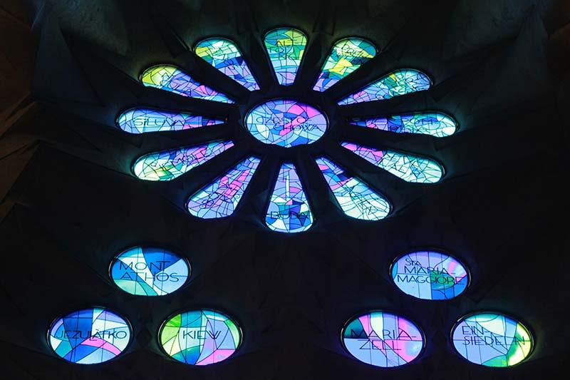 Sagrada Familia vitrail