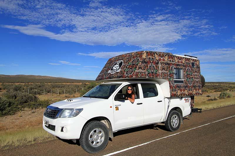 traverser patagonie argentine van