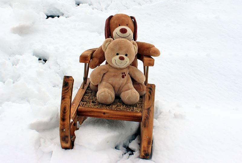 vacances neige avec bébé