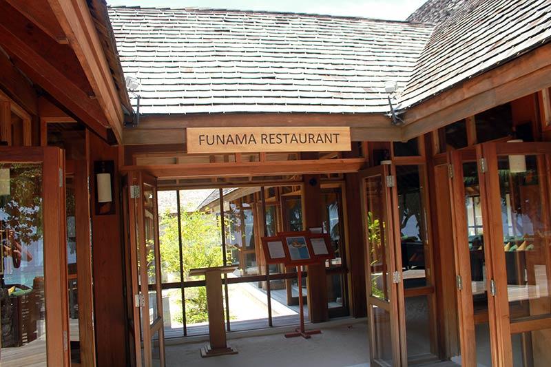 Vilamendhoo Funama restaurant