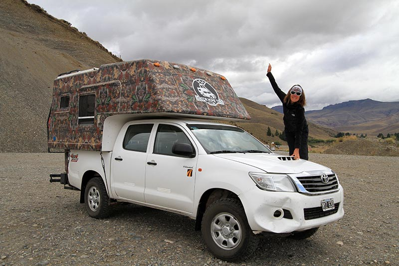 voyage en Argentine en van aménagé