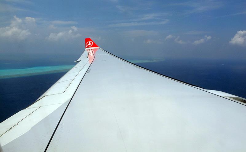 voyage aux Maldives vol international