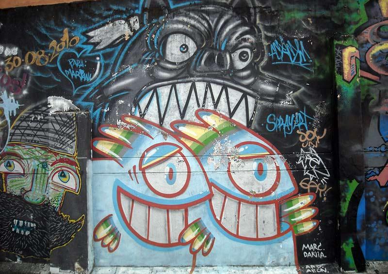 Voyage en Colombie Bogota art urbain