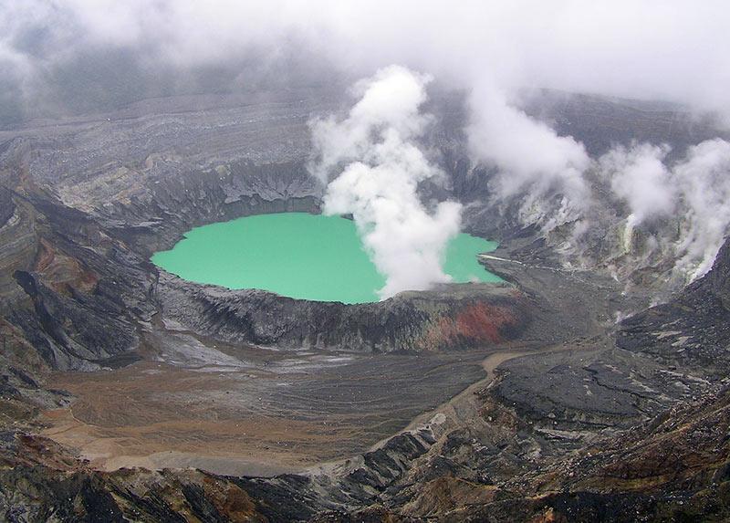 voyge d'aventures volcan Poas