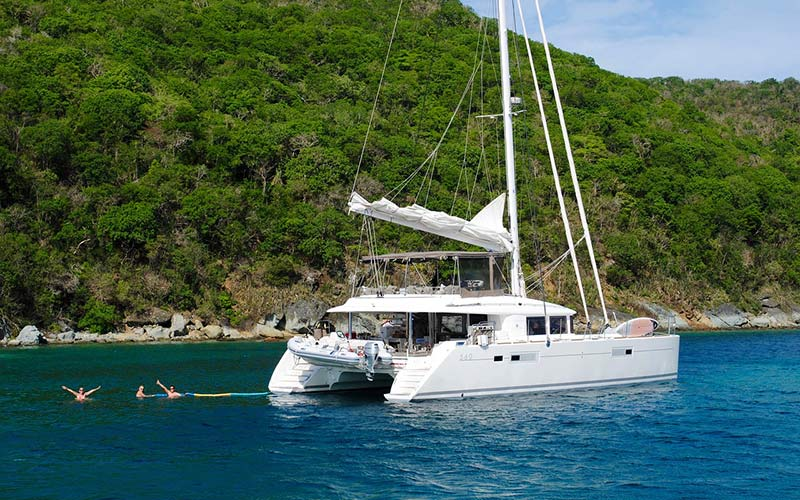 voyage grenadines catamaran