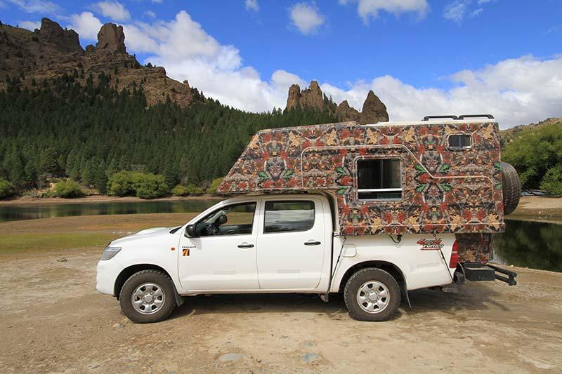 voyage en van en Patagonie