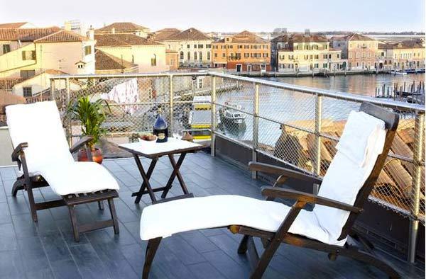 Appartement 9flats, le paradis à Venise