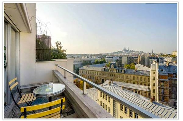 appartement avec terrasse paris